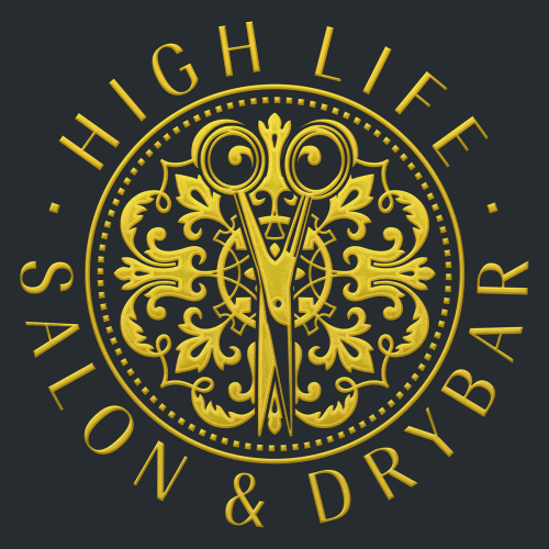 High Life Salon and Drybar_Logo_Main_Metallic_Final_S-med